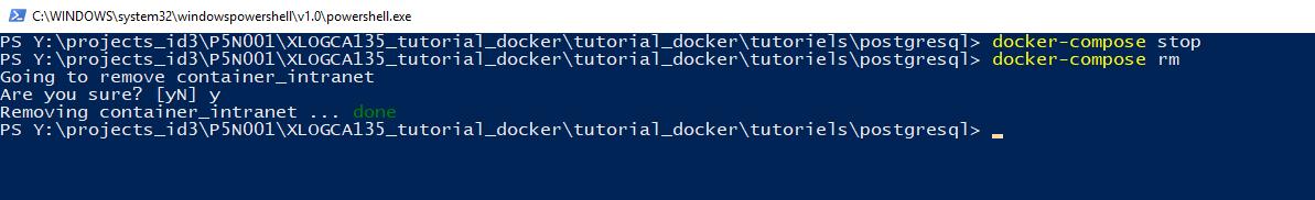 Tutoriel Docker et Postgresql — Docker tutorial 0 1 0 documentation